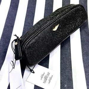 NWT DFV Gliteratty Make-up Brush Cosmetic Bag